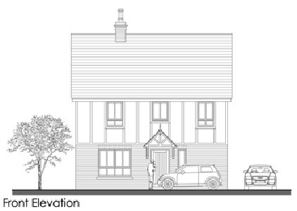 Front Elevation - diane